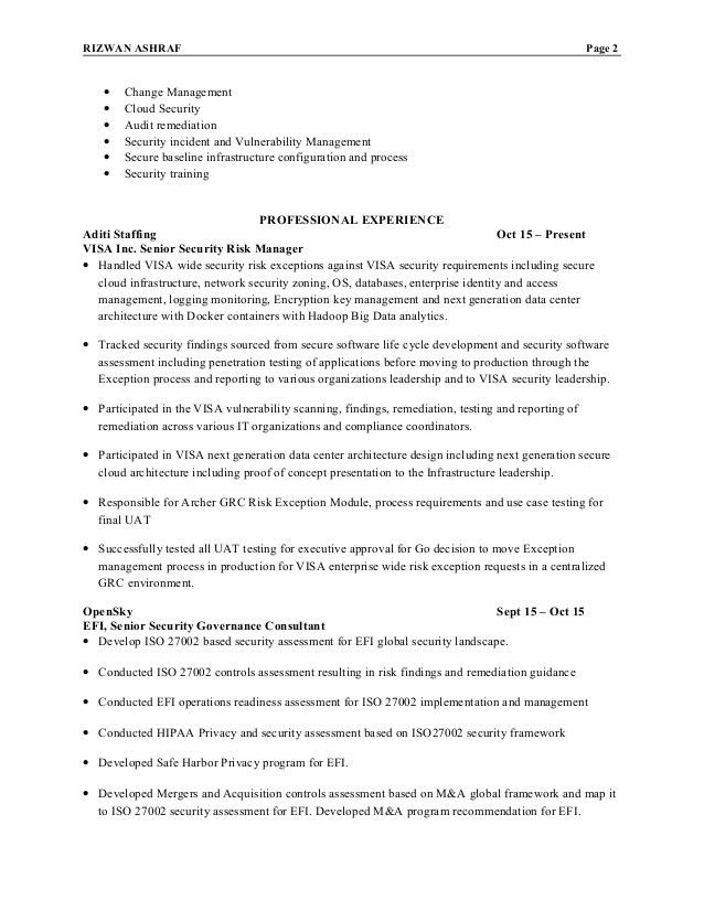 25 best ideas about project manager resume on pinterest project ...
