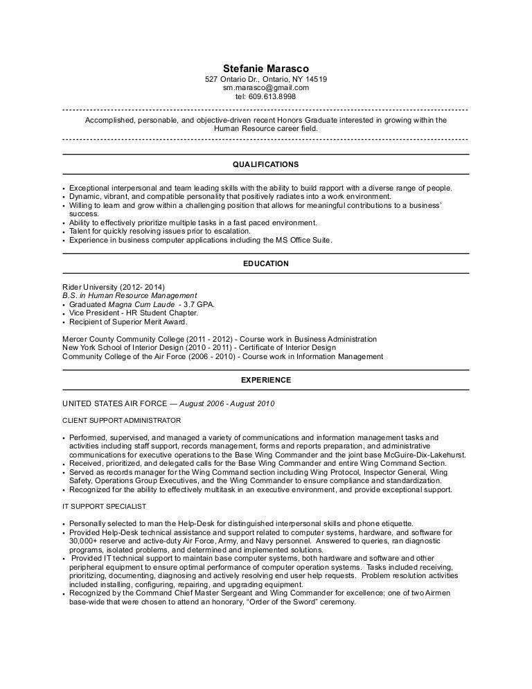 School Secretary Resume Objective Examples - Contegri.com