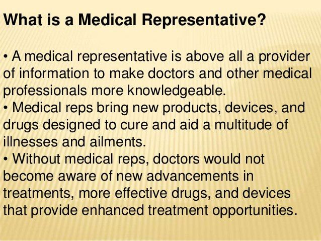 Indian Pharmaceuticals Marketing & selling for Medical Representatives