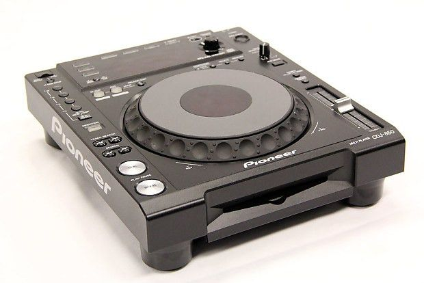 Pioneer CDJ-850 Pro DJ CD/Media Player | Reverb