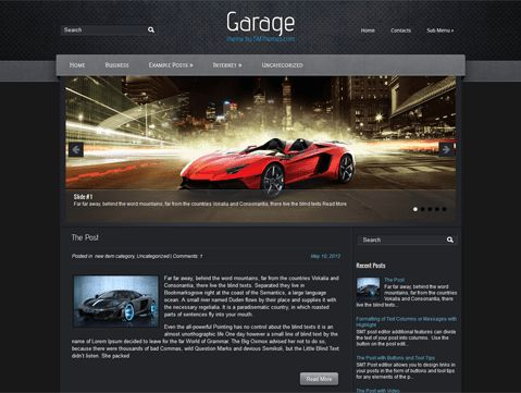 Games Free WordPress Themes