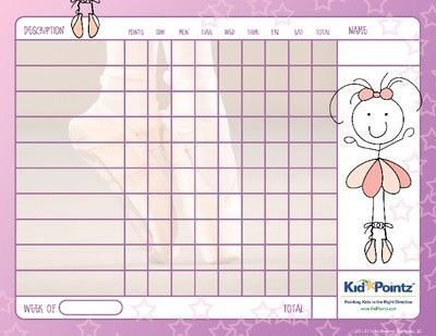 Free Printable Charts {Kid Pointz} school kids homework free ...