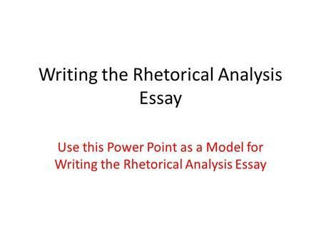 Writing the Literary Analysis Essay - ppt video online download