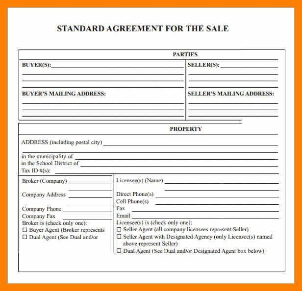 5+ sale agreement template | awards templates