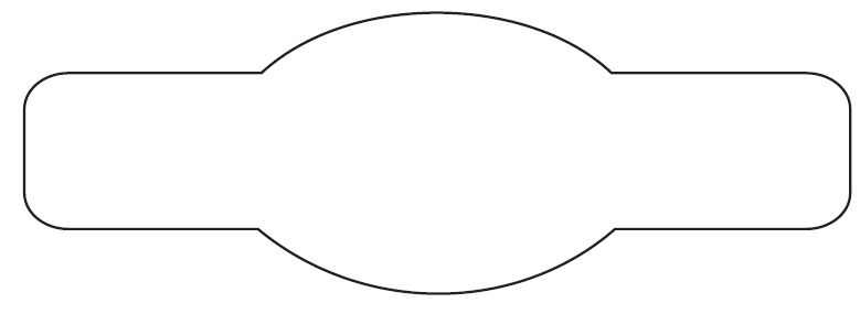 Oval Shape Template, Go Back > Gallery For > Oval Shape Stencil ...