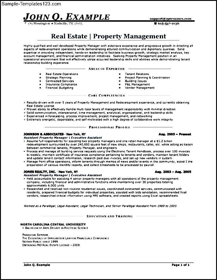 cool writing a great assistant property manager resume check more ...