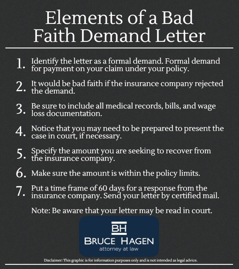 How To Write A Bad Faith Demand Letter | HRE Law