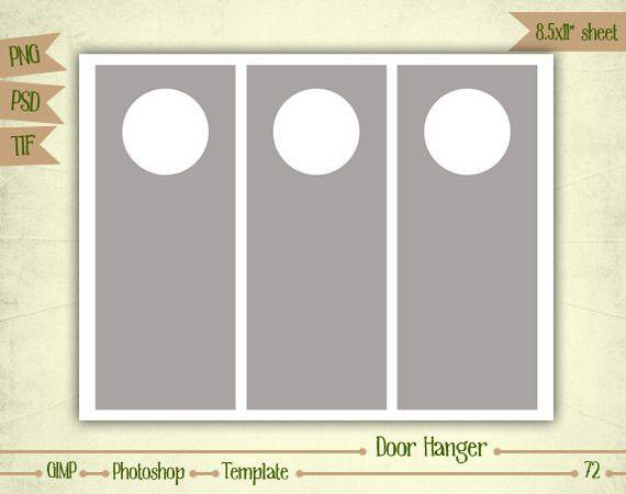Door Hanger Template | cyberuse