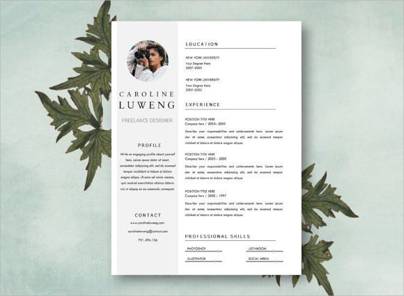 Photographer Resume Sample - Template Examples