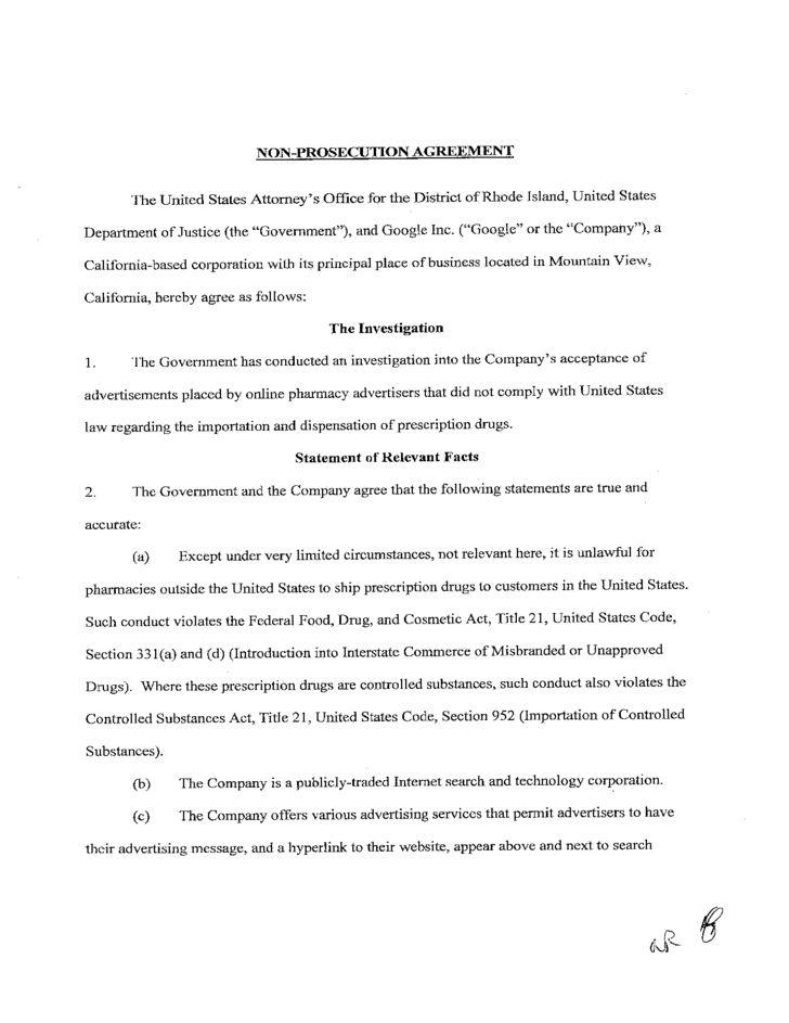 Affidavit of No Prosecution Form - Rhode Free Download