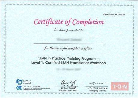 9 Best Images of Sample Certificate Of Training Format - Course ...