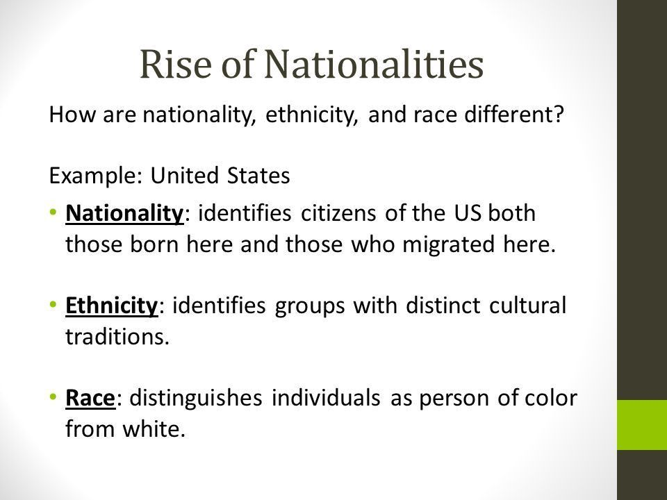 Chapter 7: Ethnicity. - ppt download