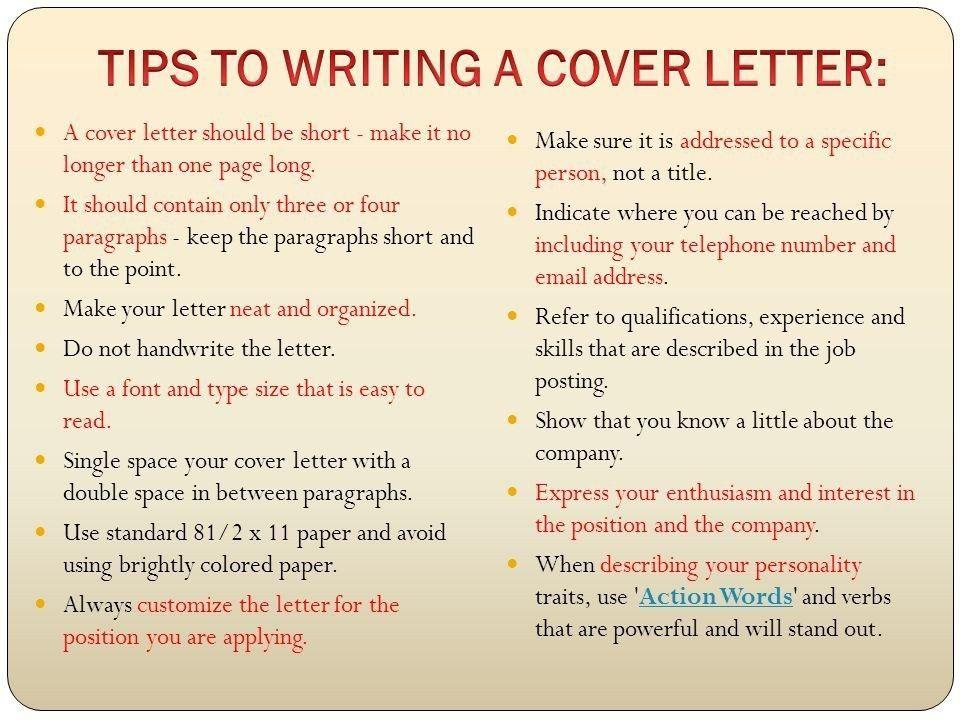 What Should A Cover Letter Consist Of | ithacaforward.org