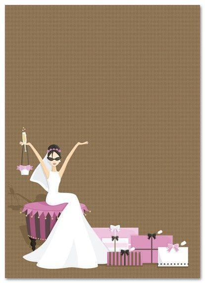 Blank Bridal Shower Invitations - plumegiant.Com