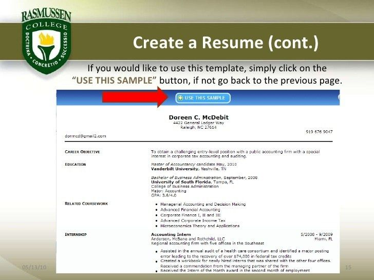 Optimal Resume Fresno State #8580
