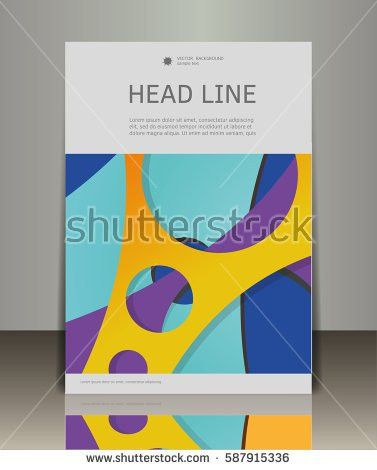 Magazine Cover Template Stock Images, Royalty-Free Images ...