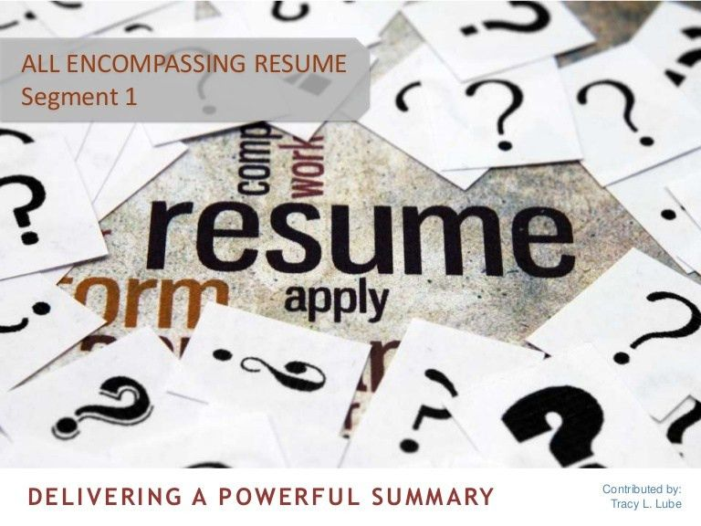 How to Write a Powerful Summary for Your Resume