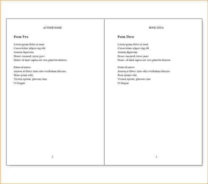 Book Template For Word | the-ceramic-cookware.com