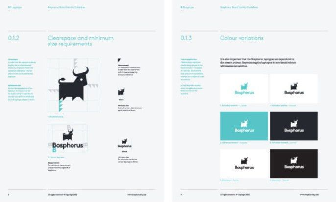 Corporate Identity Manual Template. 10 professional brand manual ...