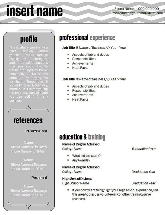 general accountant sample resume template for character reference ...