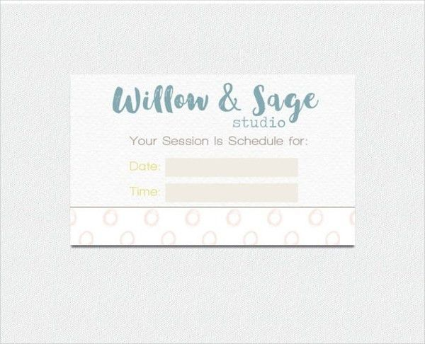 9+ Appointment Card Templates - Free PSD, AI, EPS Format Download ...
