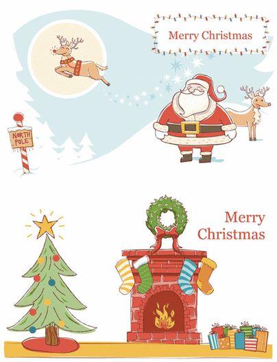Christmas Card Template | Card Templates