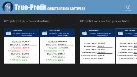 Get True-Profit Construction Software - Microsoft Store
