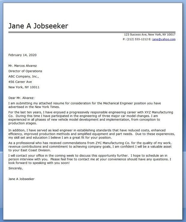 application letter sample marine engineering cover letter ...