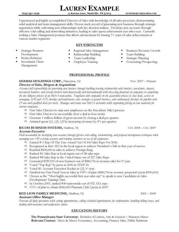 operations manager resume examples best district sales template ...
