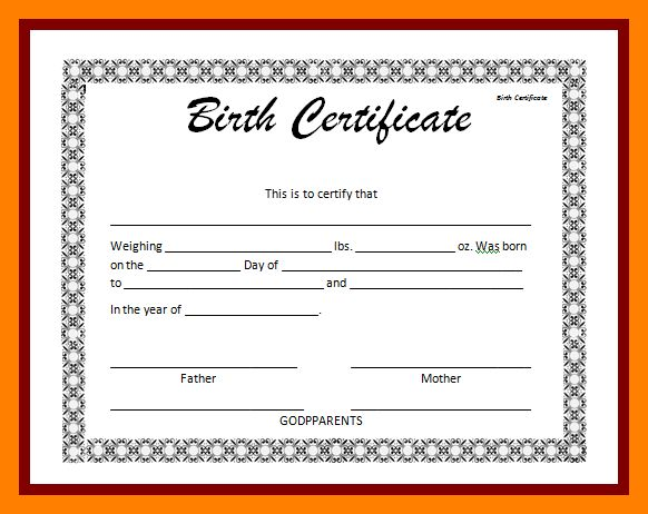 7+ birth certificate word | resume sections