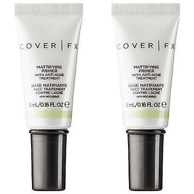 Cover Fx Mattifying Primer With Anti-acne Treatment -2 Pieces ...