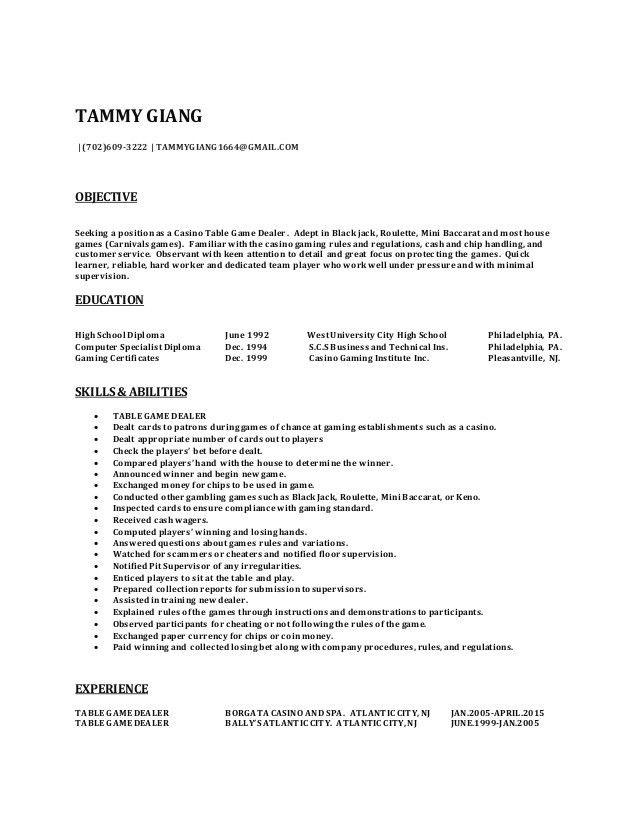 TAMMY RESUME 2