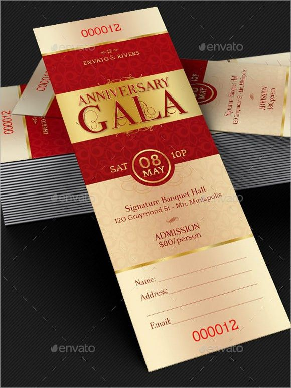9+ Sample Ticket Invitations - PSD, Vector EPS