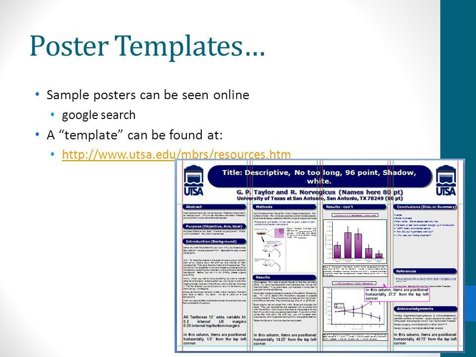 Scientific Posters: Introduction to Mastery - ppt video online ...