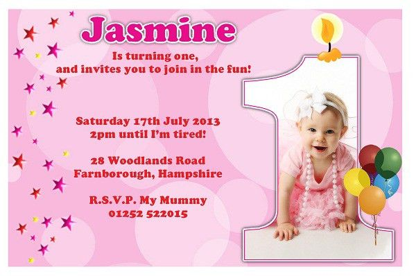 St Birthday Invitation Message Examples St Birthday Invitation - Birthday invitation message examples