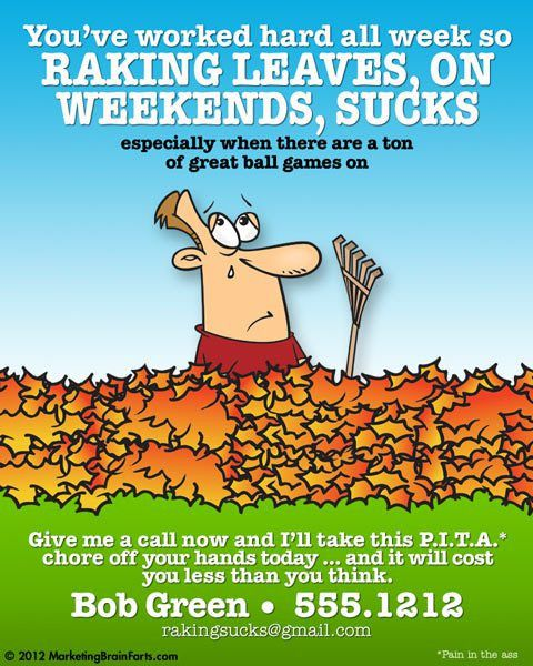 Advice for starting a leaf raking business?   Warrior Forum - The ...