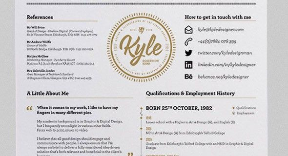 How To: Make an Impressive Resume - Printaholic.com