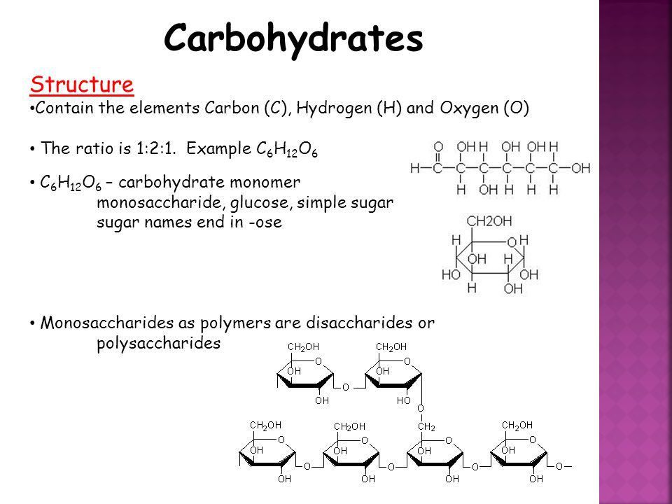 Biological Molecules. Biological Molecules Six Most Common ...