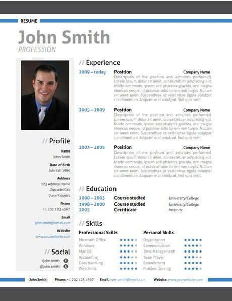 Resume Template Seek | Create professional resumes online for free ...