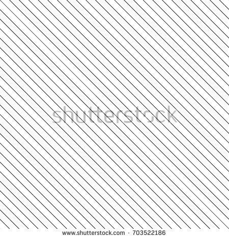 Diagonal Thin Black Lines Abstract On Stock Vector 703522186 ...
