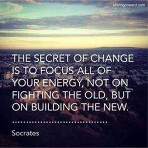 Today's Delicious Quote on the Secret of Change - Nicole DeVito