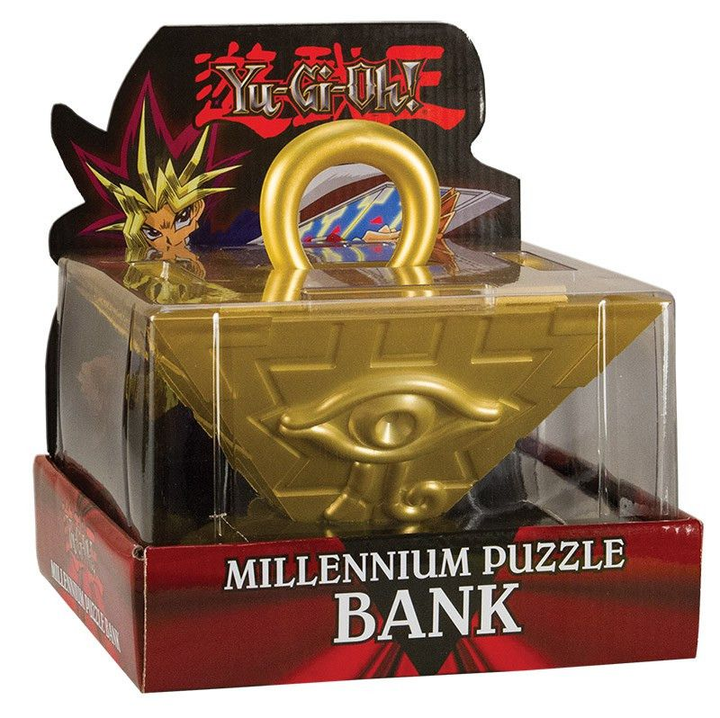 Yu-Gi-Oh!®: Millennium Puzzle Collector's Coin Bank | Bank USAopoly
