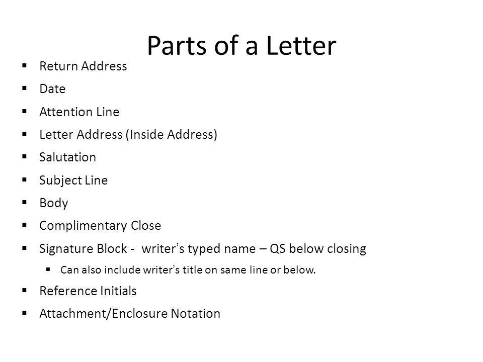 Business Letters Cover Letters and Mailing Labels too! - ppt download