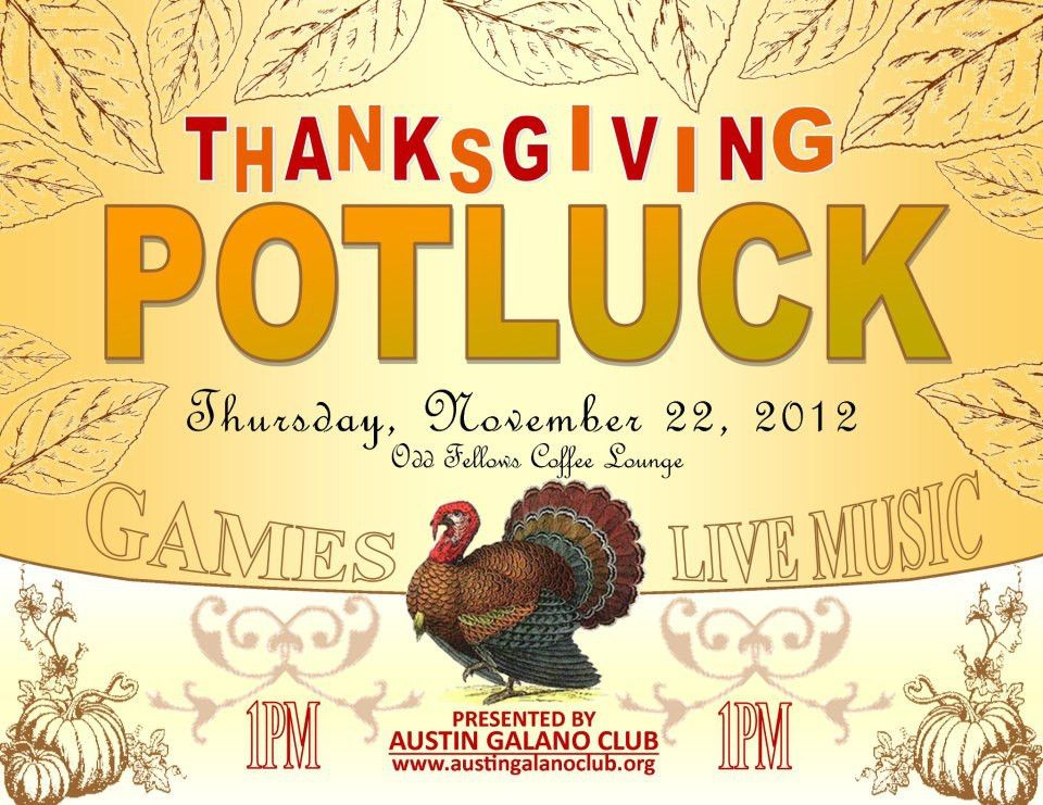 12+ Thanksgiving Potluck Signup Sheets with Thankgiving Vector ...