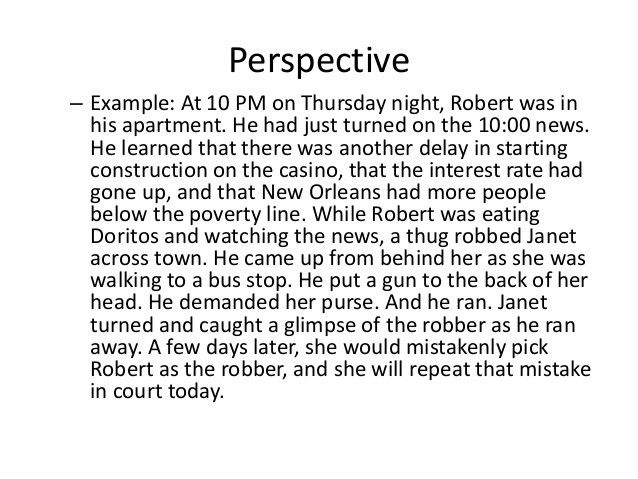 Module 19: Opening Statement as Story