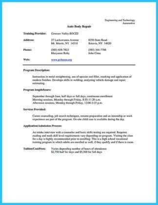 Automotive Technician Resume Examples. Die Besten 25+ Objective ...