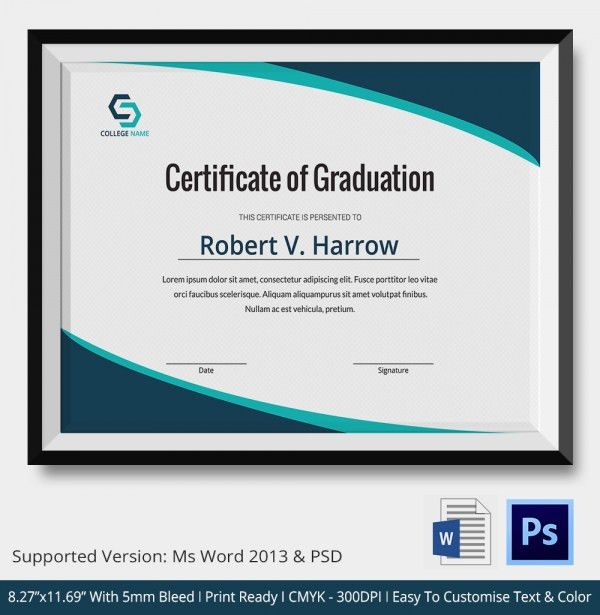 Certificate In Word. Making A Certificate With Word 2003 - Youtube ...