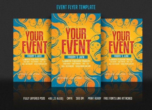 Event Flyers – 20+ Free PDF, PSD, AI, Vector ESI Format Download ...