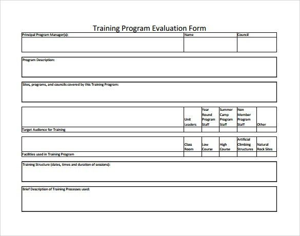 Training Feedback Form | FormGet