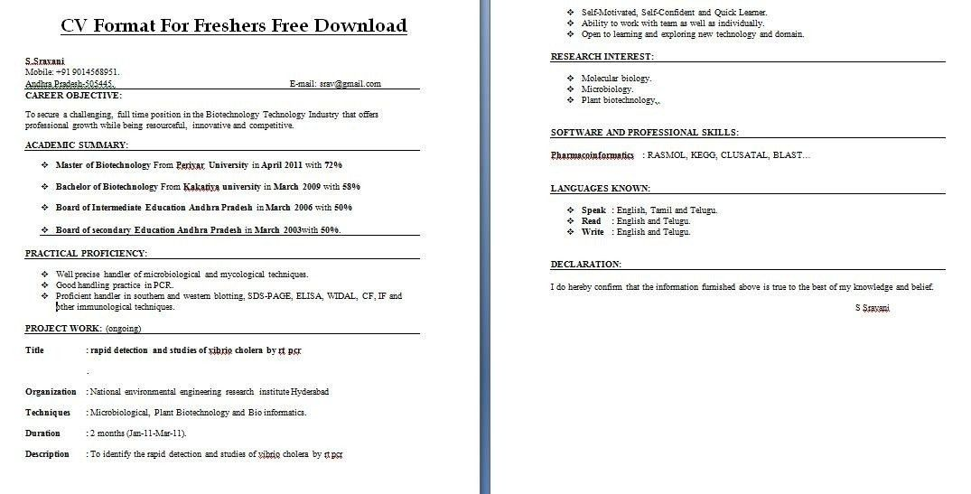Create Free Resumes, top 10 free apps \ sites to create cv and ...